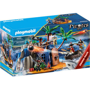 PLAYMOBIL® Pirates - Pirateninsel mit Schatzversteck 70556