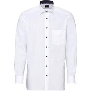 Olymp Luxor Businesshemd, Modern Fit, Kent-Kragen, bügelfrei, uni, für Herren
