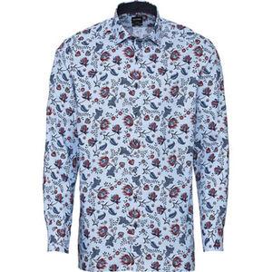 Olymp Luxor Businesshemd, Modern Fit, Kent-Kragen, bügelfrei, floral, für Herren