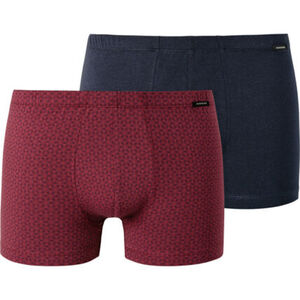 Schiesser Essentials Retroshorts, 2er-Pack, Single Jersey, für Herren