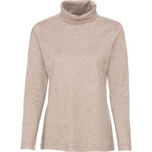 Adagio Shirt, Langarm, uni, Rollkragen, für Damen
