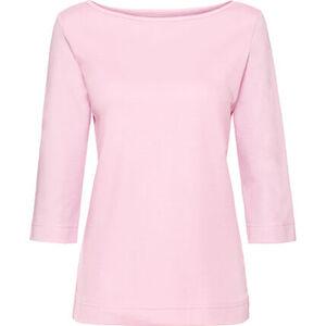 """Adagio Shirt """"Anja"""", U-Boot-Ausschnitt, 3/4 Ärmel, für Damen"""