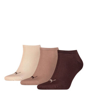 Puma Sneaker-Socken, 3er-Pack, Baumwoll-Mix, uni