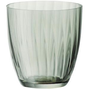Bohemia Selection Wasserglas Georgia, 260 ml, grün