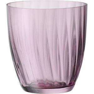 Bohemia Selection Wasserglas Georgia, 260 ml, rosa