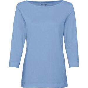 """Adagio Shirt """"Anja"""", 3/4-Arm, U-Boot-Ausschnitt, uni, für Damen"""