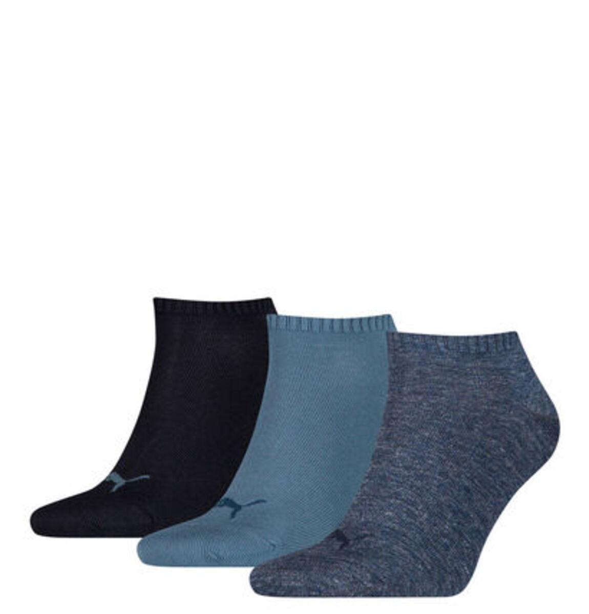 Bild 1 von Puma Sneaker-Socken, 3er-Pack, Baumwoll-Mix, uni
