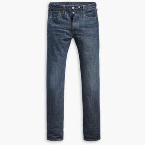 Levi's® Jeans 501®, Original Fit, 00501-2744, gerader Schnitt, 5-Pocket, Knopfleiste, für Herren