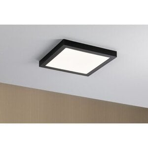 Paulmann LED-Panel Abia eckig 300x300 mm 22 W, 2.700 K Schwarz matt