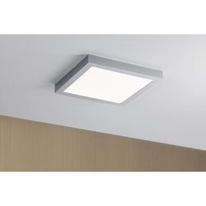 Paulmann LED-Panel Abia eckig 300x300 mm 22 W, 2.700 K Chrom matt