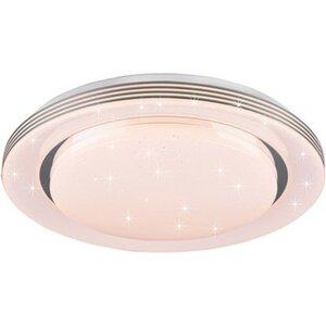Reality LED-Deckenleuchte Sternenhimmel Atria Ø 48 cm Weiß