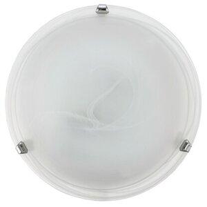 Eglo Deckenleuchte Salome Ø 30 cm Weiß-Chrom EEK: E-A++