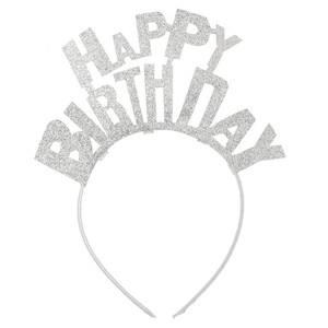 Mädchen Haarreif Happy Birthday