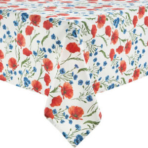 REDBEST Tischdecke  Blumen Sondergrößenberechnung#Sondergröße 110x140 cm