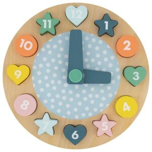 HEMA Holz-Puzzle, Uhr, Ø 23 Cm