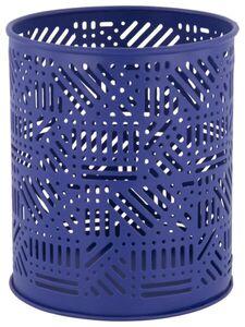 HEMA Teelichthalter, Ø 10.5 X 12.5 Cm, Metall, Blau