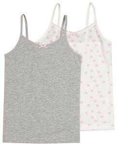 HEMA 2er-Pack Kinder-Hemden Grau