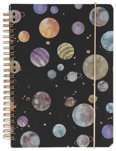 HEMA Notizbuch, DIN A5, Weltraum