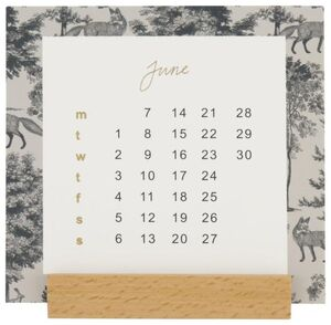 HEMA Tischkalender 2021 - 10 X 7 X 10.7 Cm