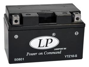 Landport YTZ10-S SLA Motorrad Batterie, 12 V 8,6 AH