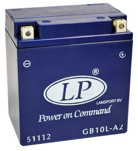 Landport GB10L-A2 GEL Motorrad Batterie, 12 V 10 AH
