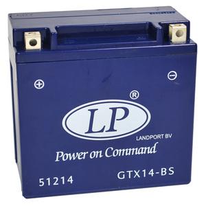 Landport GTX14-BS GEL Motorrad Batterie, 12 V 12 AH