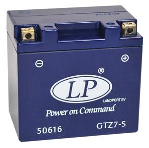 Landport GTZ7-S GEL Motorrad  Batterie, 12 V 6 AH