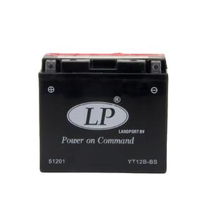 Landport YT12B-BS AGM Motorrad Batterie, 12V 10Ah