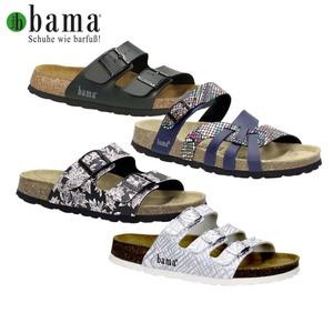 Damen- oder Herren-Pantoletten verschiedene Modelle und Farben, anatomisch geformtes Kork-Kautschuk-Fußbett, Decksohle aus Leder
