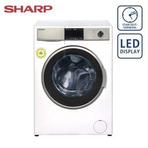 Waschtrockner ES-HDB87WD-DE • 15 Programme • Bubble-Drum-Edelstahltrommel fu?r besonders sanfte Wäschepflege • antibakteriell beschichtetes Material • Maße: H 84,5 x B 59,7 x T 58,2 cm •