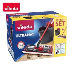 """Komplett-Set """"UltraMat"""" • bestehend aus je 1 Bodenwischer und Eimer mit PowerPresse"""