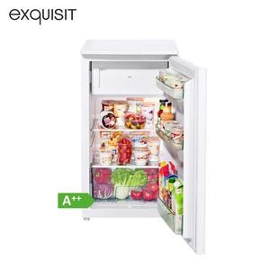 Kühlschrank KS 117-4 A++ · 80 Liter Nutzinhalt, davon 11 Liter ***Gefrierfach · Maße: H 85 x B 48 x T 49 cm · Energie-Effizienz A++ (Spektrum: A+++ bis D)