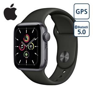 Apple Watch SE 44mm • Großes Retina OLED Display • Mitteilungen zu  Herzfrequenz und  Herzrhythmusstörungen • Schlaferfassung • Apple Pay, watchOS 7