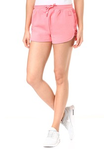 Bench. Sweat Pants Mesh Insert - Shorts für Damen - Pink
