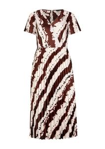 Midikleid im Batik-Look