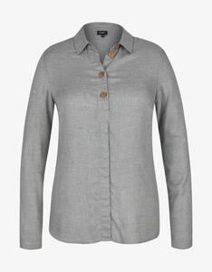Bexleys woman - Bluse mit Holzknöpfen
