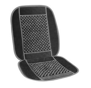 Aroso Universal Holzkugel-Sitzauflage, mit Textil-Umrandung