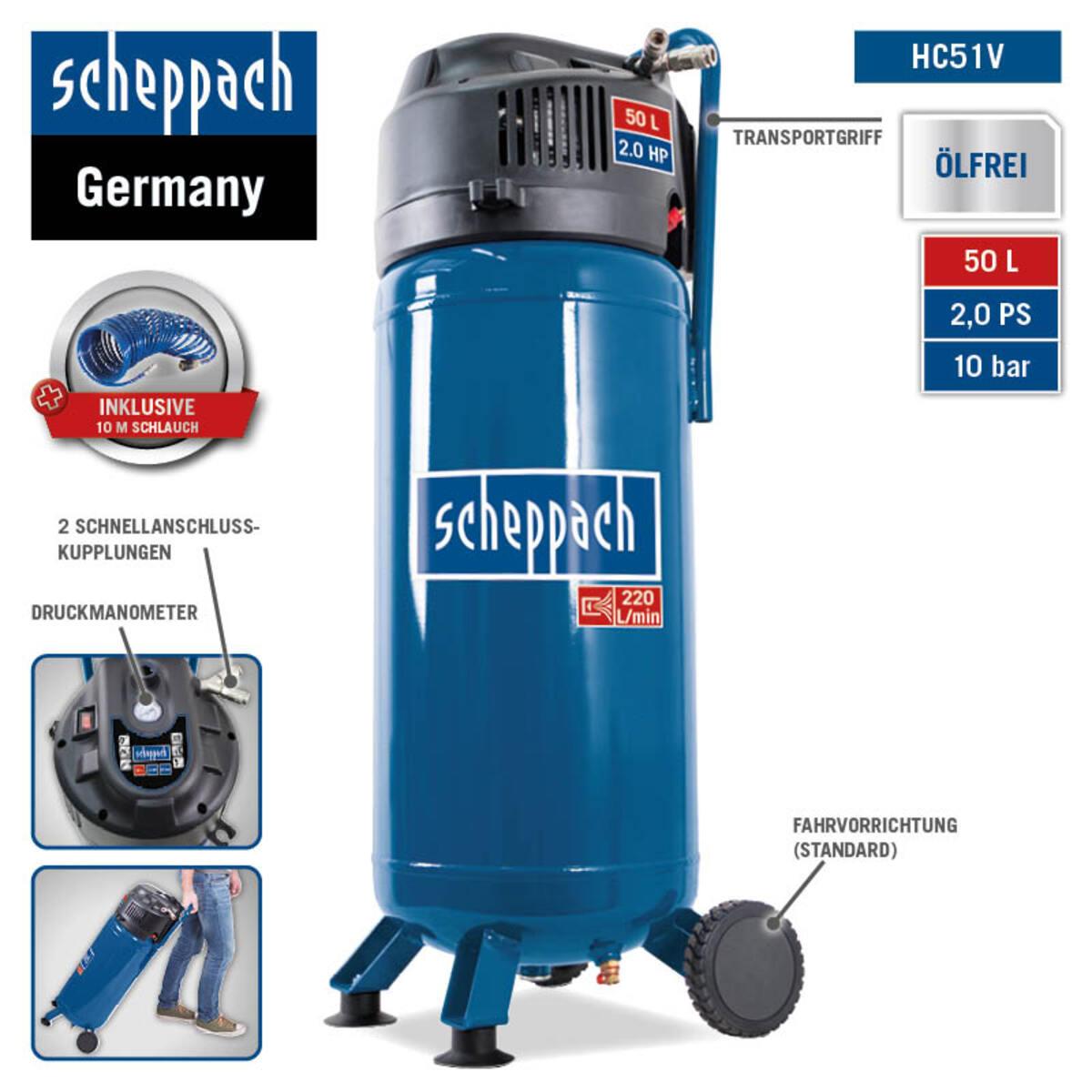 Bild 3 von Scheppach Kompressor VC52Pro SE