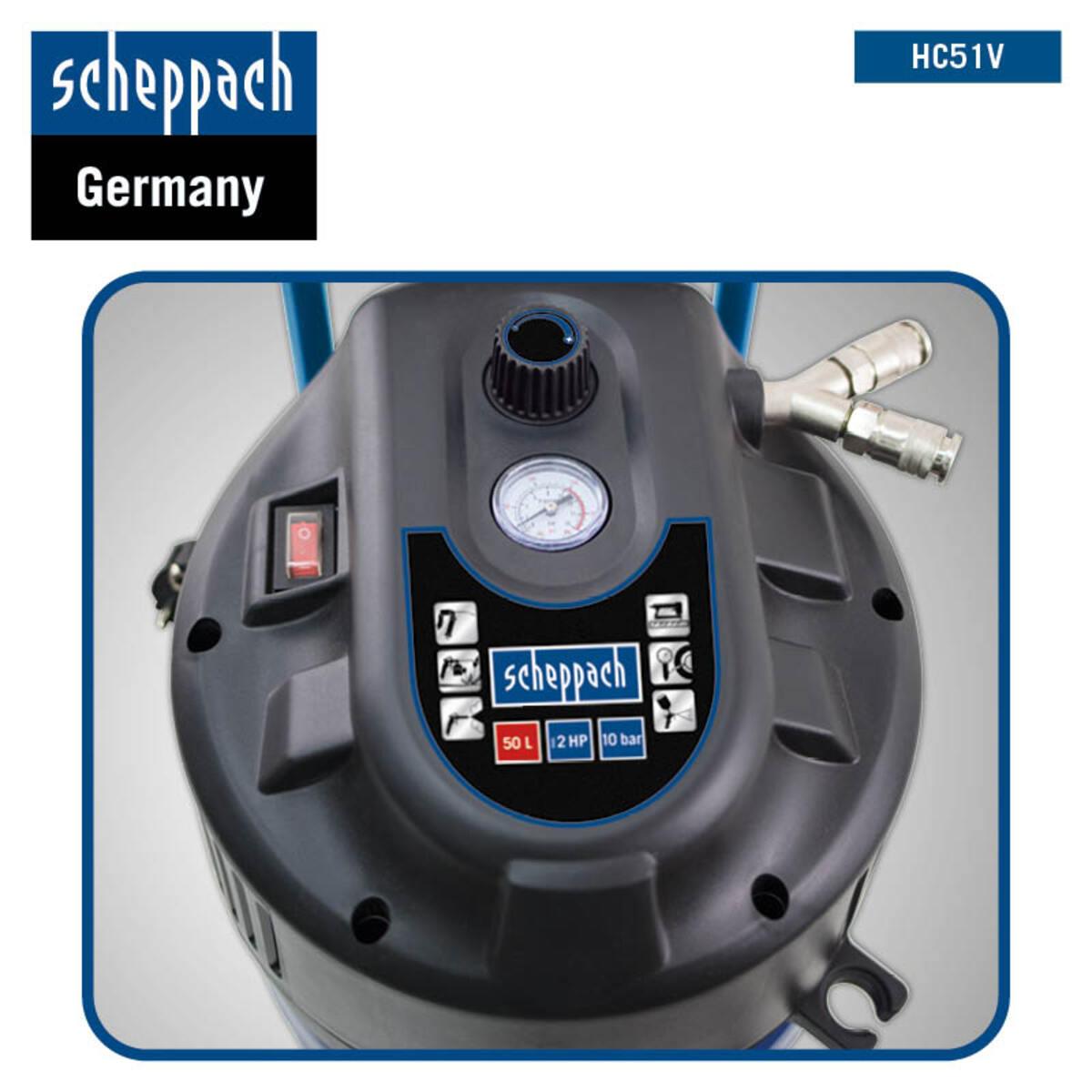 Bild 5 von Scheppach Kompressor VC52Pro SE