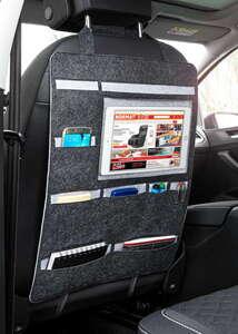 Diamond Car Premium Rücksitzorganizer aus Filz