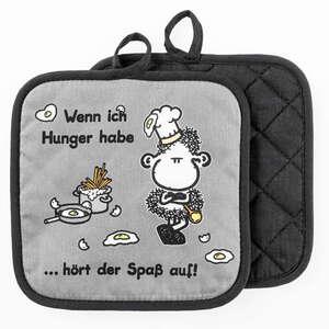 Sheepworld Topflappen - Wenn ich Hunger habe, 2er-Set