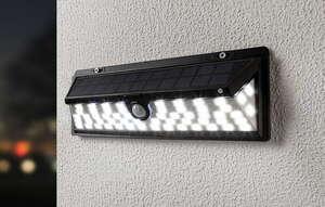 I-Glow Solar-Premium-Wandleuchte - Schwarz