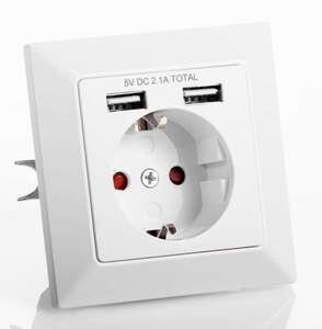 Powertec Electric Unterputzsteckdosen - USB-A