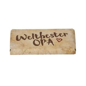 """Schokolade 40 g """"Weltbester Opa"""""""