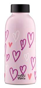 Mama Wata - by 24Bottles Insulated Bottle Trinkflasche 470ml Hearts