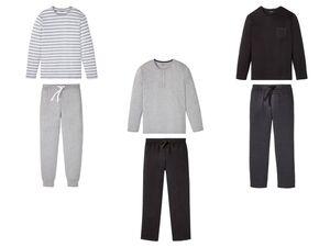 LIVERGY® Pyjama Herren, mit Bindeband