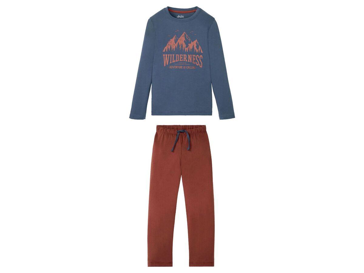 Bild 2 von PEPPERTS® Pyjama Jungen, aus reiner Baumwolle