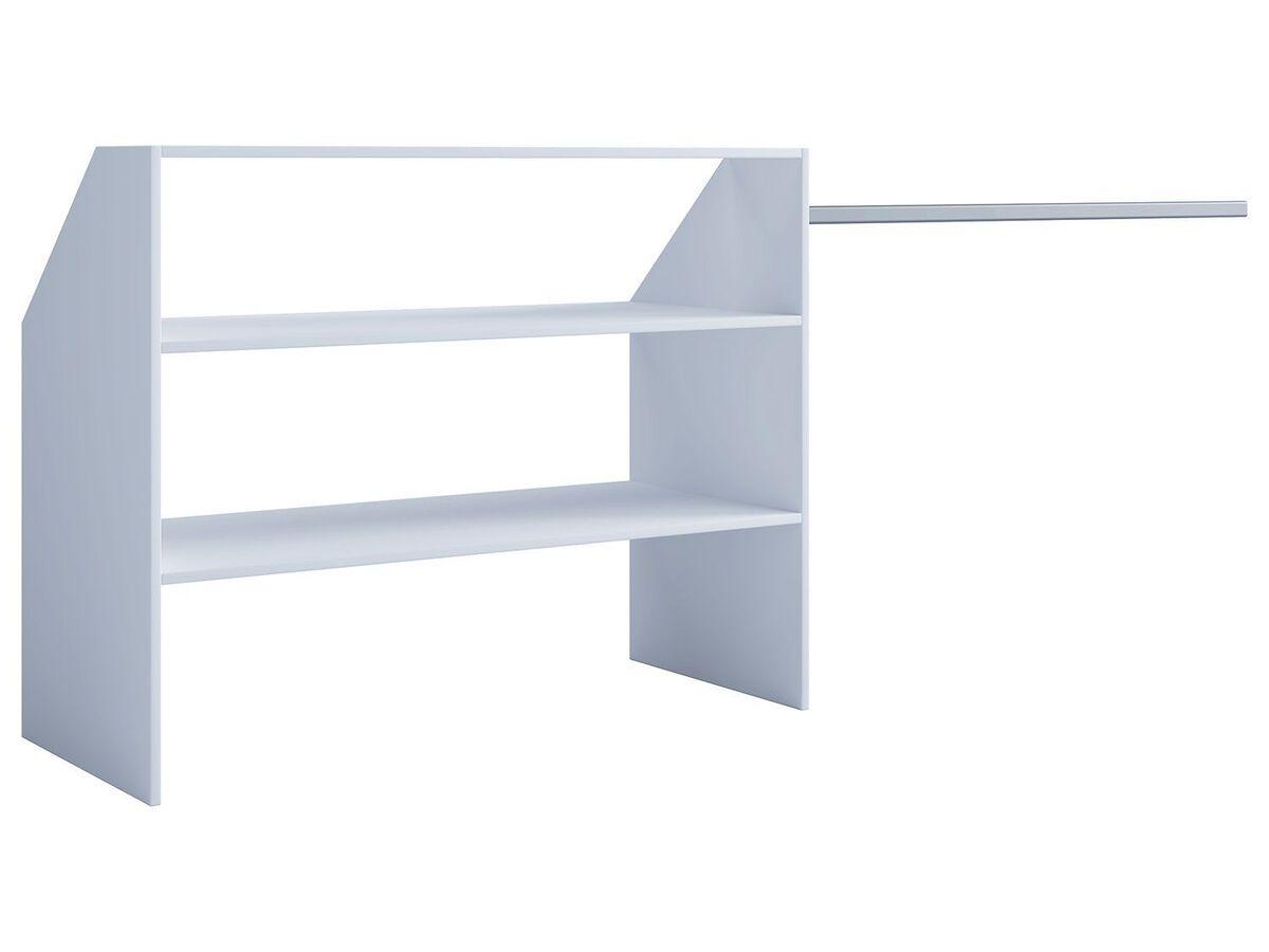 Bild 2 von VCM Dachschrägen-Regal »Dacho« inkl. verstellbarer Kleiderstange