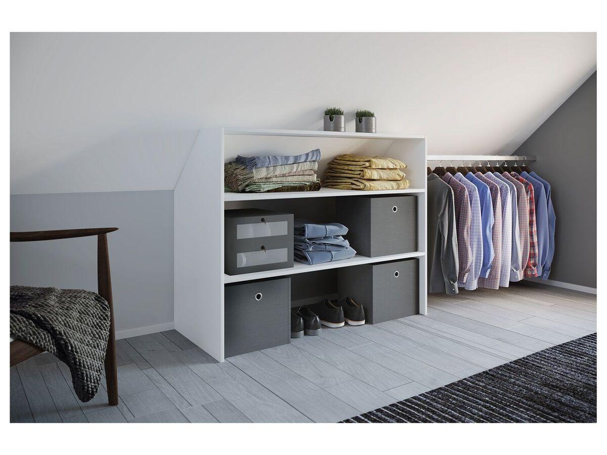 Bild 3 von VCM Dachschrägen-Regal »Dacho« inkl. verstellbarer Kleiderstange