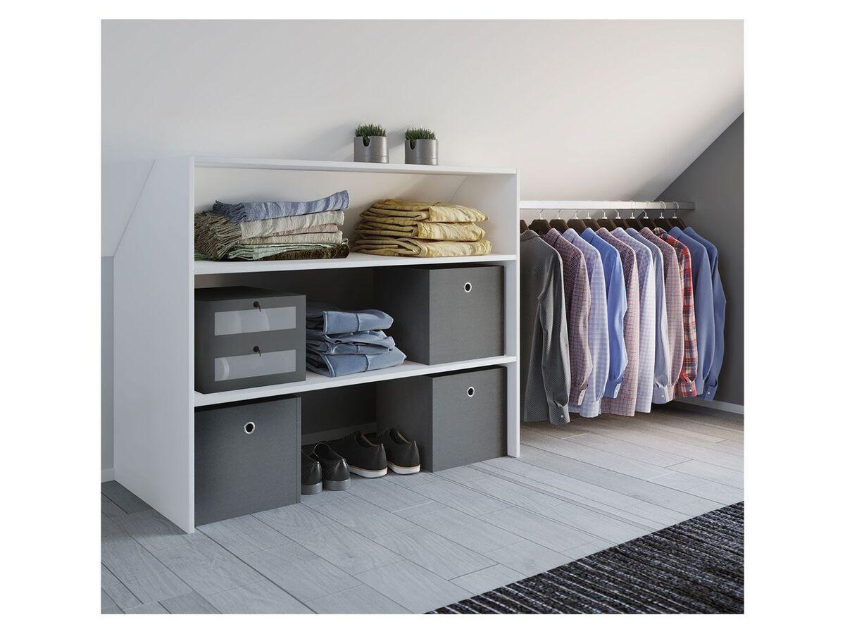 Bild 4 von VCM Dachschrägen-Regal »Dacho« inkl. verstellbarer Kleiderstange